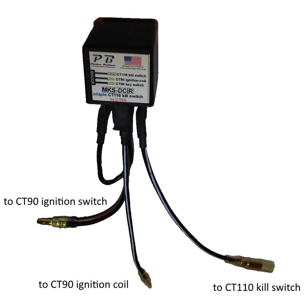 Ct90 Wiring Harness Honda Z Diagram Diagrams Lifan Ct Auto Schematic Ct110 Kill Switch Adapter For Home