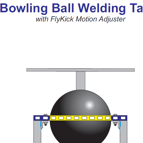 Bowling Ball Welding Table