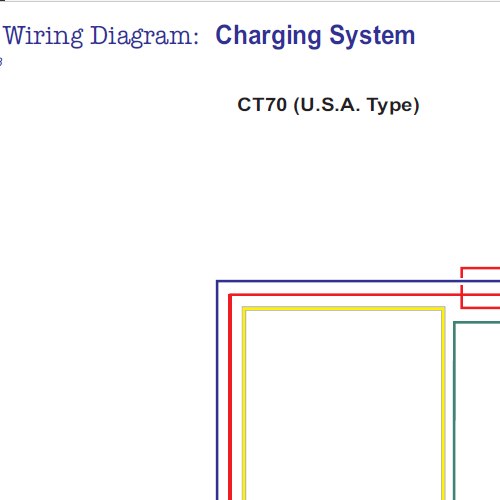 Ct Charging Mod X on Honda C70 Wiring Diagram