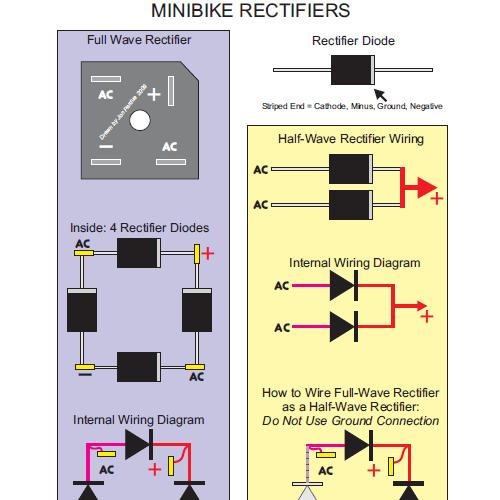tecumseh minibike dc headlight taillight wiring home. Black Bedroom Furniture Sets. Home Design Ideas