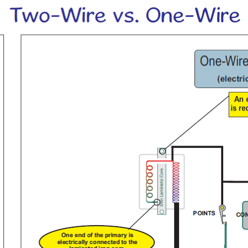 Two Wire vs One Wire 500x500 honda ct90 wiring diagram 1977 on all systems home of the pardue honda ct90 wiring diagram at n-0.co