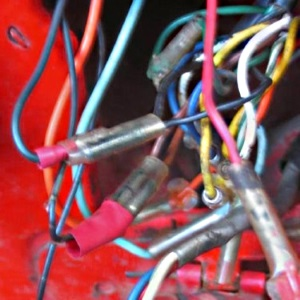 Wiring 300 cleaning your motorcycle wiring harness how to home of the ct90 wiring harness at creativeand.co
