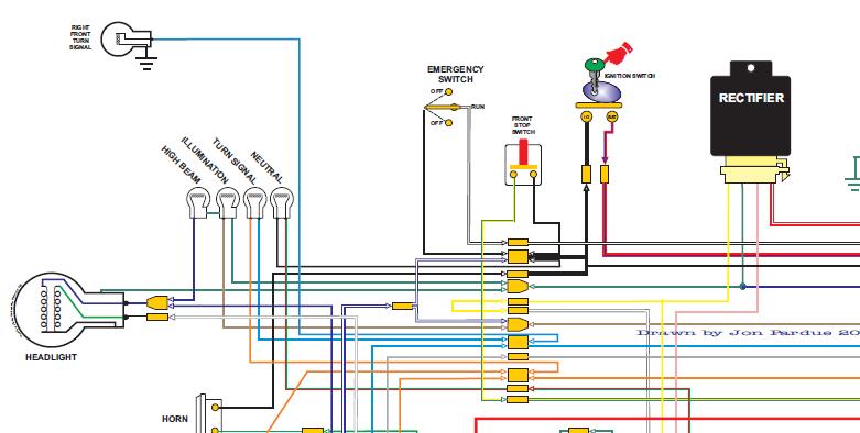 Custom Motorcycle Wiring Diagrams - Wiring Diagrams Interval on