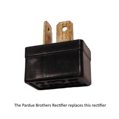 2 Terminal Plug Rectifier