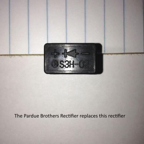 2 plug rectifier