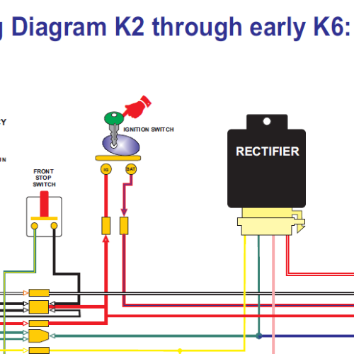 Ct K Through Early K X on Honda Cub Wiring Diagram